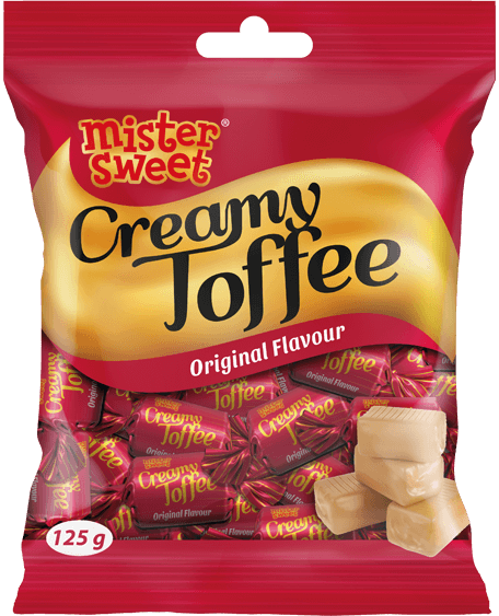 Creamy Toffee_125g Bag_Original Render
