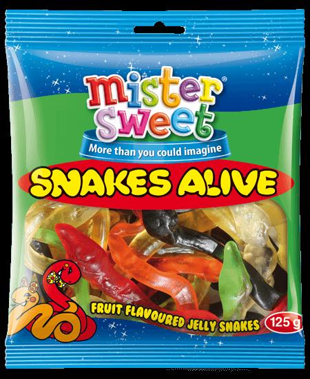 snakes-125g