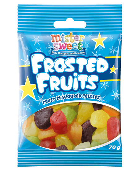 Mister Sweet Frosted Fruits 70g